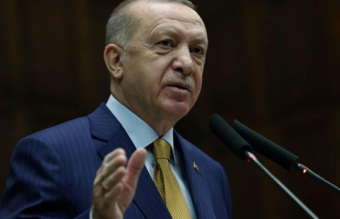 """أردوغان يوجه رسالة إلى منتخب بلاده قبل مباراته أمام إيطاليا في افتتاح """"يورو 2020"""""""