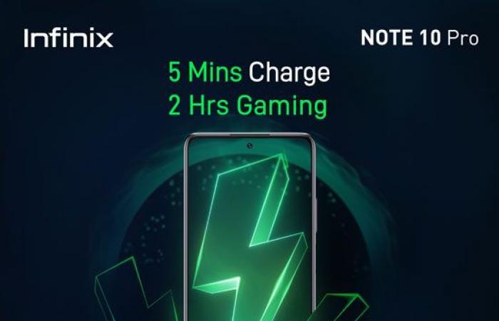 سلسلة Infinix NOTE 10 الجديدة تقدم أداءً سلسًا ومعالج قوى للألعاب الثقيلة