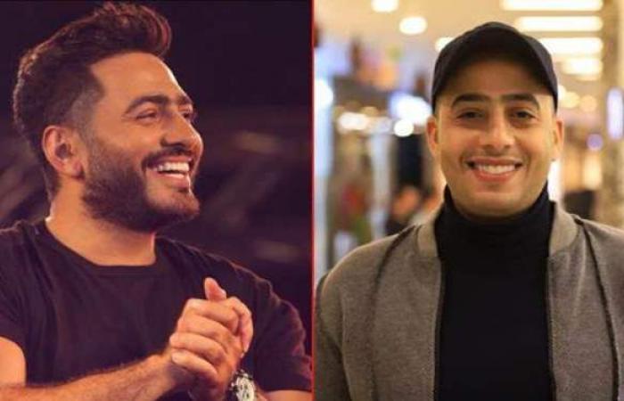 بعد مشاركته في فيلم مش أنا.. تامر حسني يوجه رسالة إلي عصام السقا