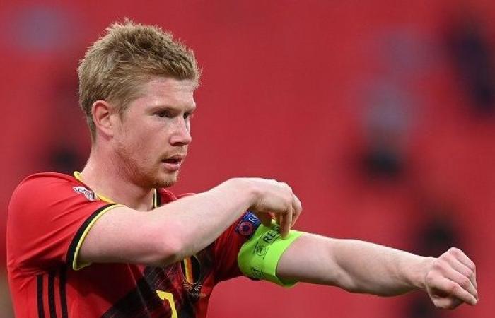 رسميا.. دي بروين يغيب عن مباراة بلجيكا الأولى في اليورو