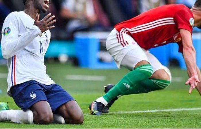 يورو 2020   عثمان ديمبلي يغادر معسكر فرنسا بسبب الإصابة