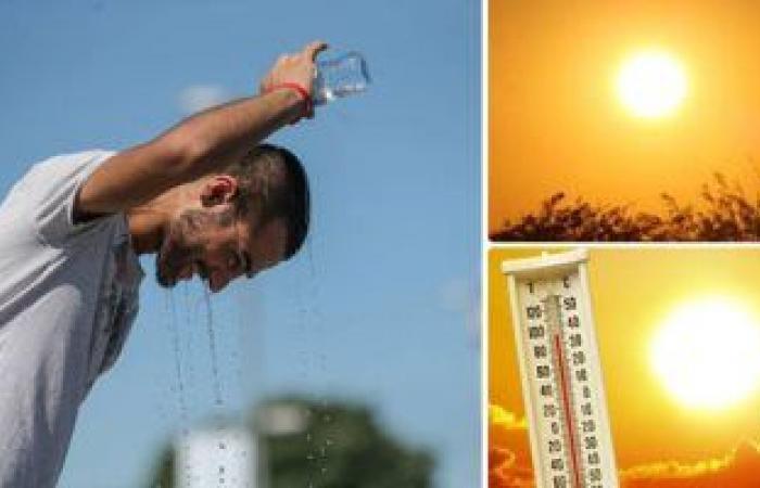 الأرصاد: طقس شديد الحرارة بكافة الأنحاء حتى الثلاثاء وشبورة على الطرق