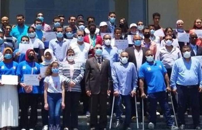 محافظ الإسكندرية يكرم المتأهلين لأولمبياد طوكيو | صور