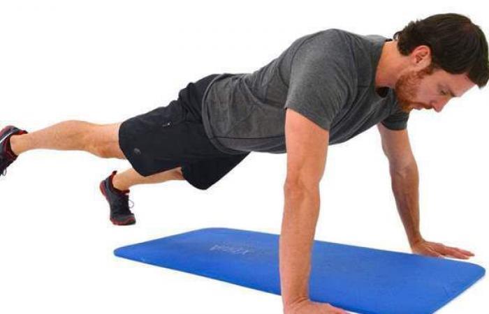 تمارين رياضية مهمة للحفاظ على اللياقة البدنية   فيديو