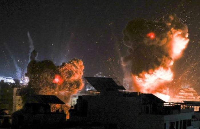 أفيخاي أدرعي ينشر فيديو لهجوم المقاتلات الإسرائيلية على موقع لحماس