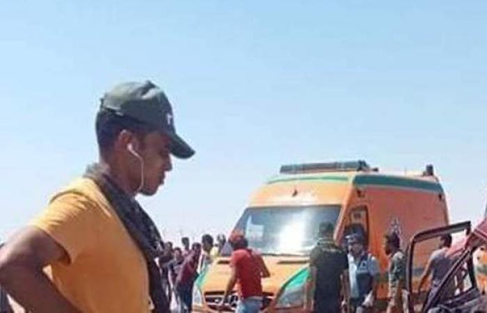 """مصرع شخصين وإصابة آخرين في حادث تصادم بطريق """"الإسماعيلية - السويس"""""""