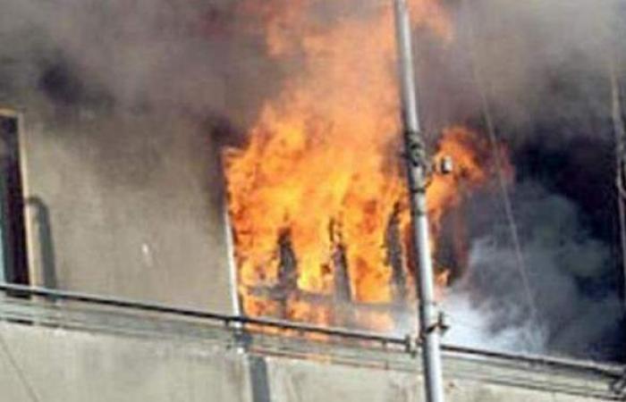 إخماد حريق نشب داخل شقة في بولاق الدكرور