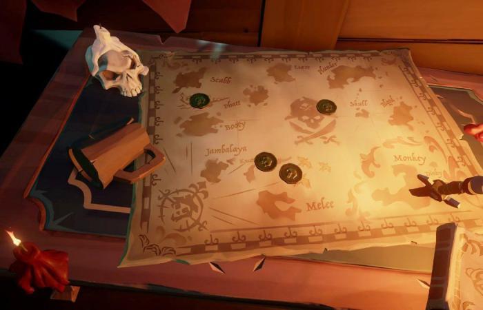يوجد سر جميل في Sea of Thieves لمحبي الألعاب الكلاسيكية