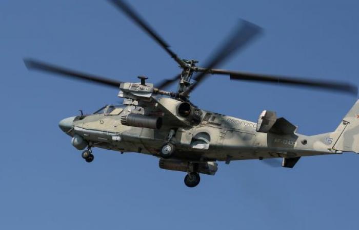 روسيا تحدث مروحية كا-52إم بصواريخ كروز