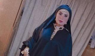 """عبير صبري بالملابس الصعيدية في كواليس تصوير مسلسل """"موسى"""""""