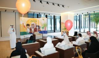بالصور.. مركز الملك عبد العزيز للحوار يقيم فعالية للأطفال ويدشن كتاب القصص