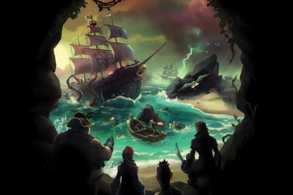 الموسم الرابع من لعبة Sea of Thieves ينطلق الأسبوع المقبل