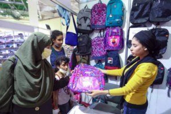 """معرض """"أهلا مدارس"""" يستقبل الزوار لليوم الرابع بمدينة نصر"""