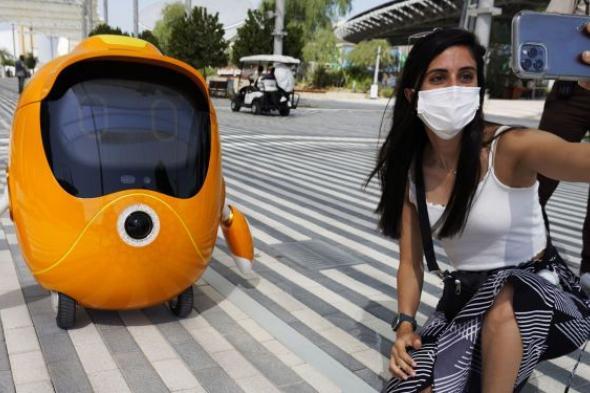 """ما هو روبوت الباندا الصيني المشارك في """"إكسبو دبي 2020""""؟... فيديو"""