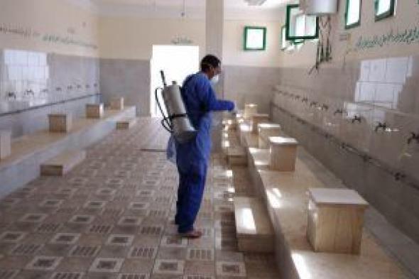 الأوقاف تشدد على الالتزام بإجراءات كورونا الاحترازية داخل المساجد