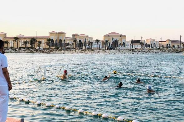 انطلاق بطولة كرة الماء الشاطئية الأولى بالخبر