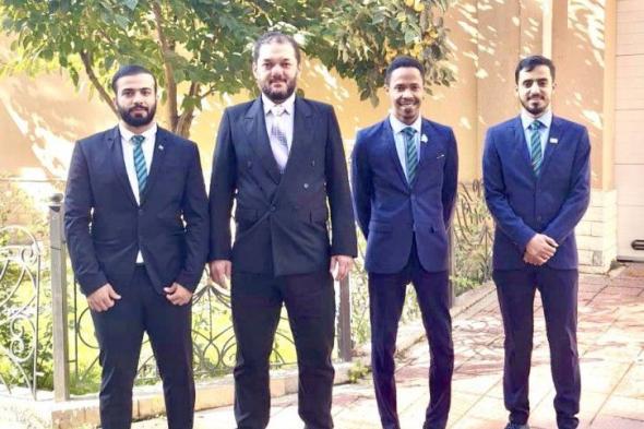 الشارة الدولية لـ 4 سعوديين